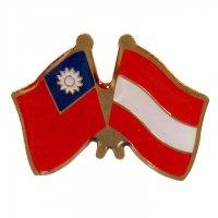 SJ09國旗徽章 台奧